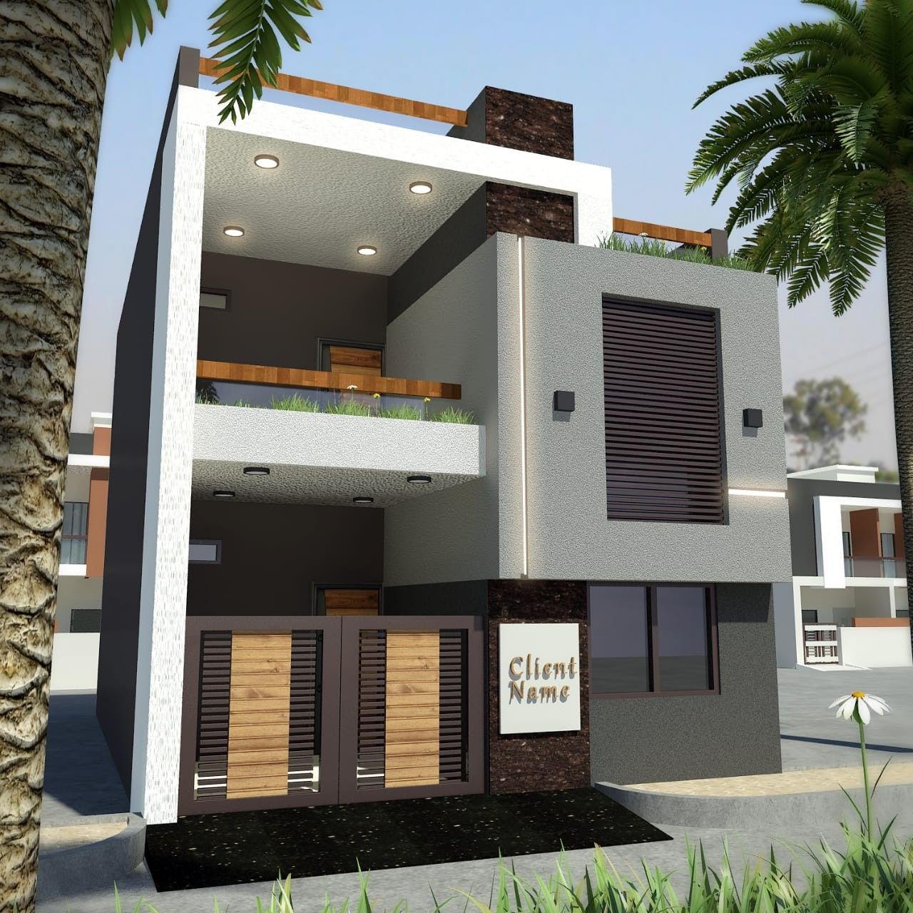 Small House Elevation Design Duplex House: Duplex House Design, House