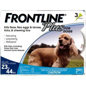 Pets Frontline Plus For Dogs Fleas Tick Control For Dogs