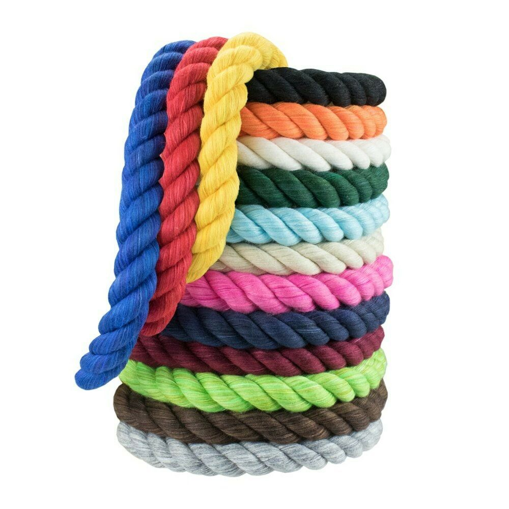Advertisement Ebay Wcp Twisted Cotton Rope 3 Strand Natural Artisan Cord 1 4 Inch 1 2 Inch New Paracord Planet Cotton Rope Rope