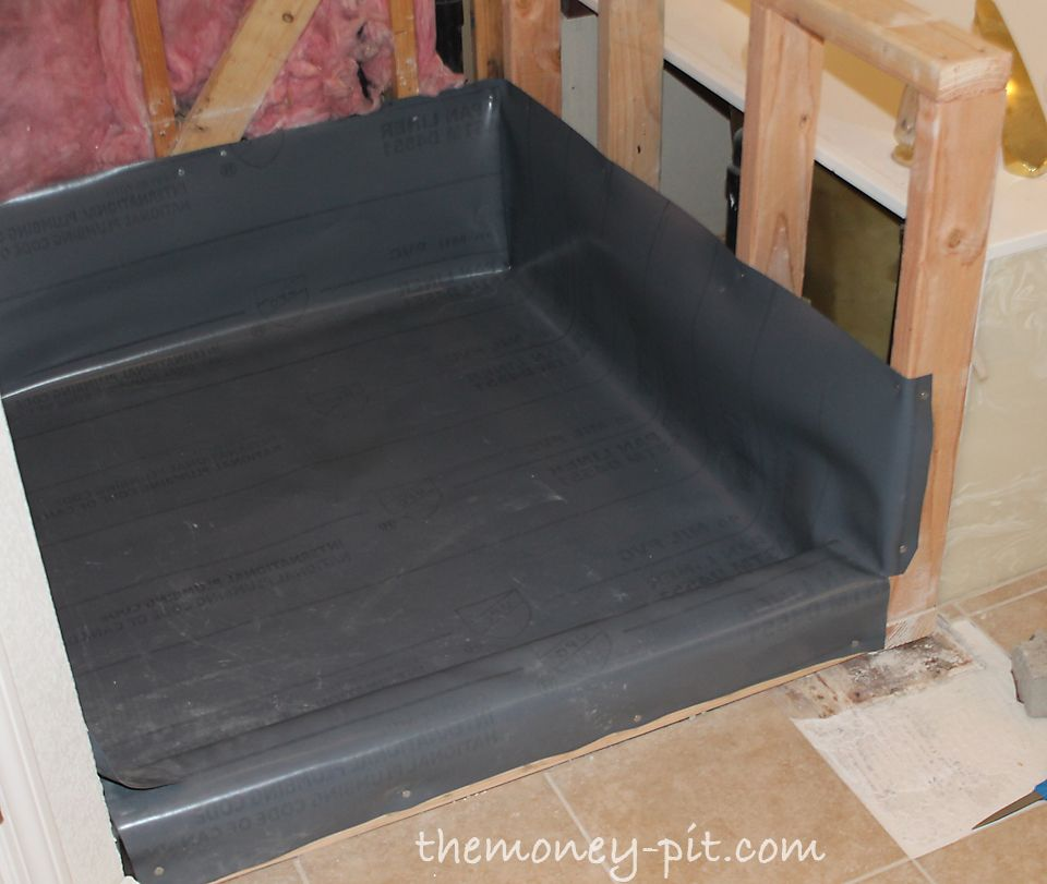 The Kim Six Fix Master Bathroom Days 5 7 Shower Pan Preslope And
