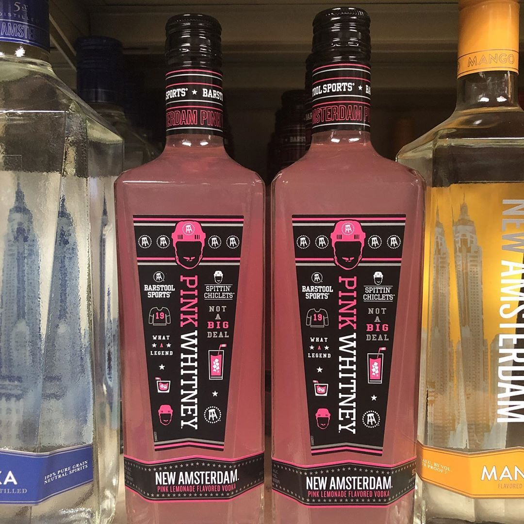 Pink Whitney Pink Lemonade Flavored New Amsterdam Is Here