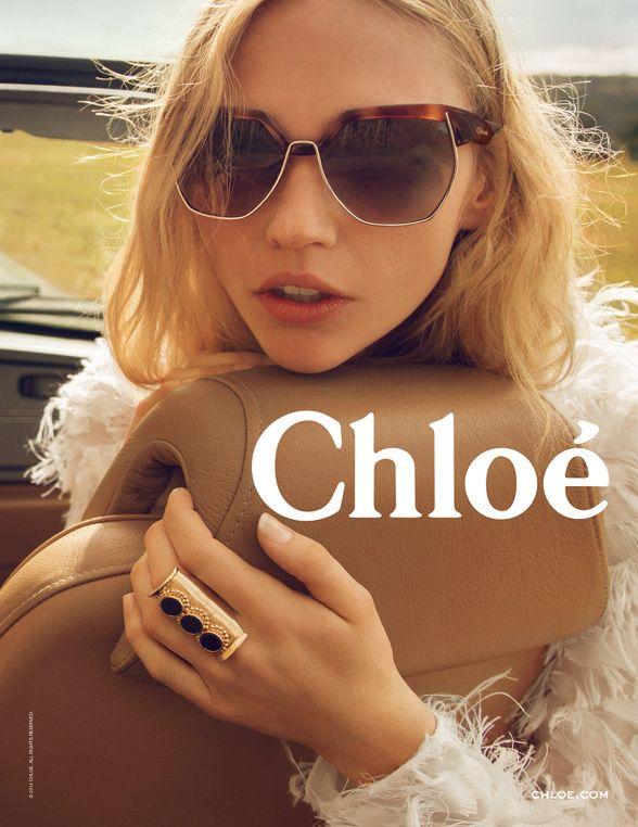 Campagne Chloé automne 2014- Lunettes solaires   Eyewear   Pinterest ... 30e77d821452