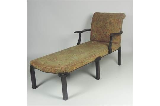 A fine quality Irish Georgian mahogany Chaise Longue, the square and Chaise Longue Auction on chaise sofa sleeper, chaise recliner chair, chaise furniture,