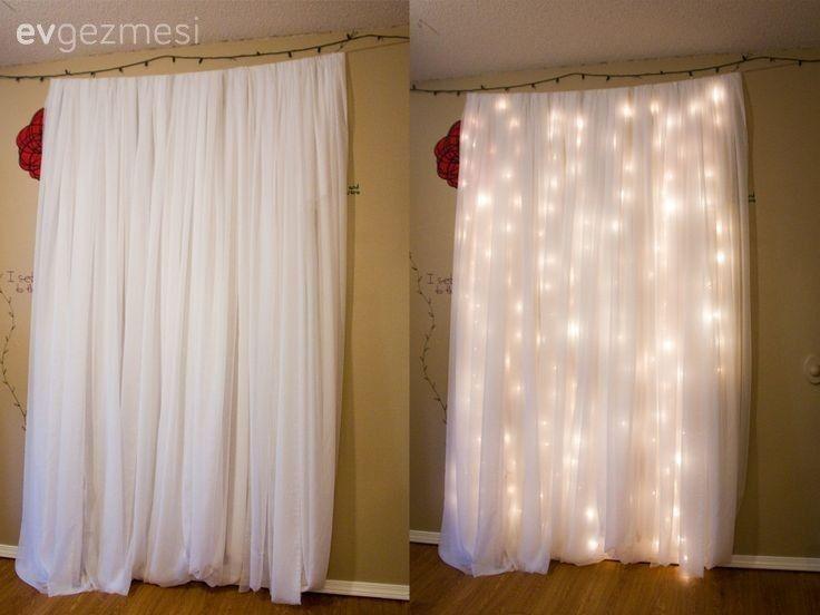 Led peri ışıkları ile harika aydınlatma fikirleri | Ev Gezmesi