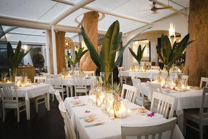 Centrepiece Inspiration Port Douglas Wedding Lounge