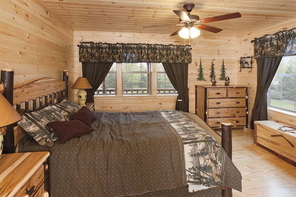 Rustic Bedrooms Design Ideas | Canadian Log Homes