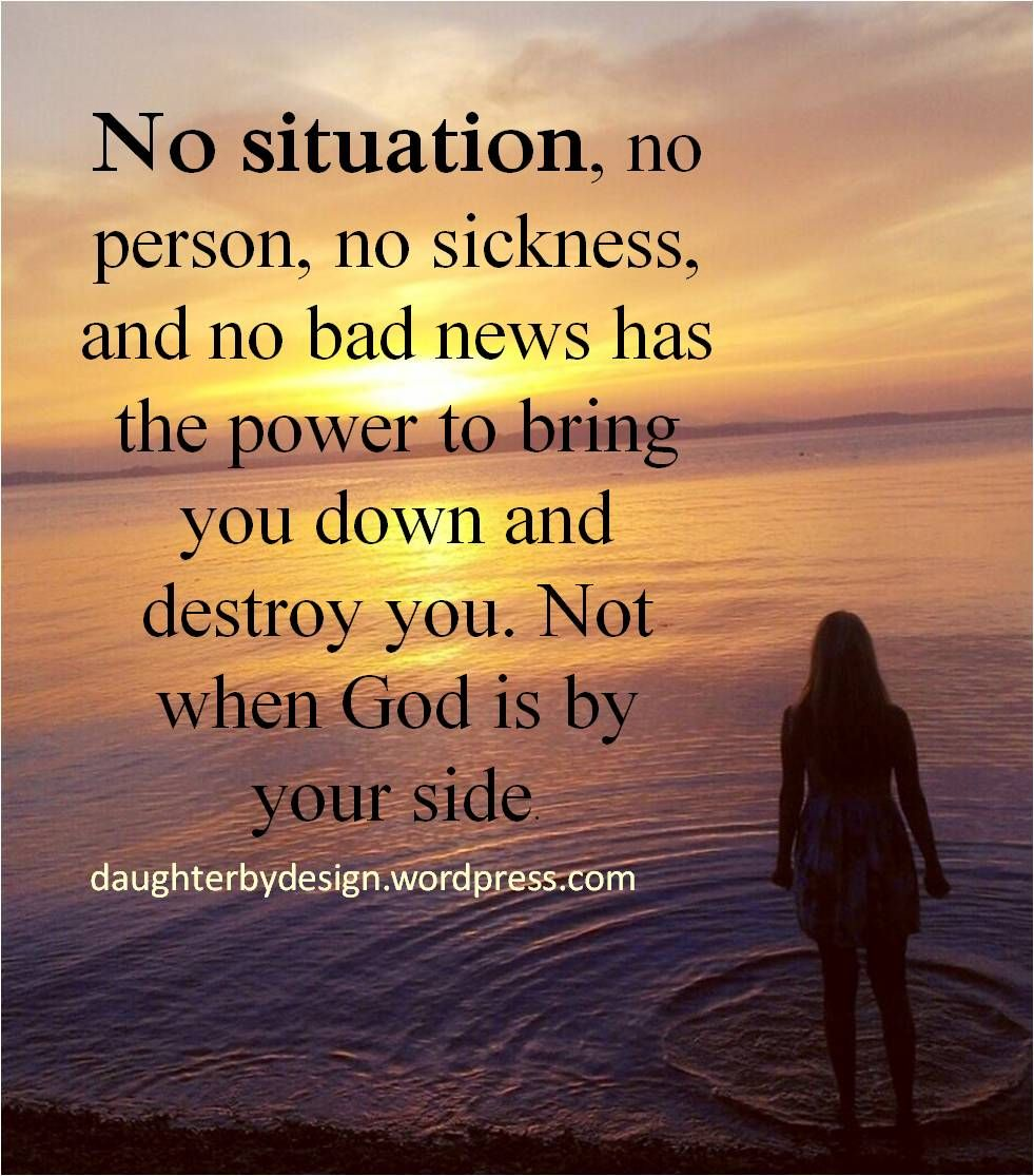 Trusting God In The Battle Christian Quotes About Life Bad News