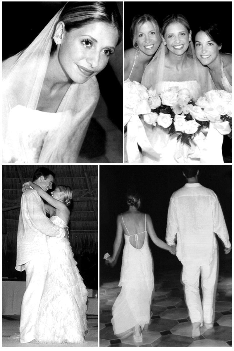 Fred Prinze Jr And Sarah Michelle Gellar Sept 1st 2002