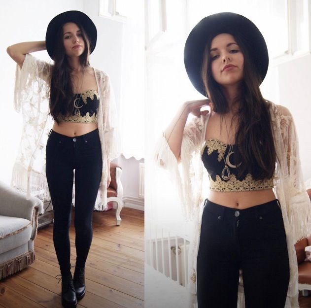 high waisted jeans and crop top - Google Search | High waisted ...