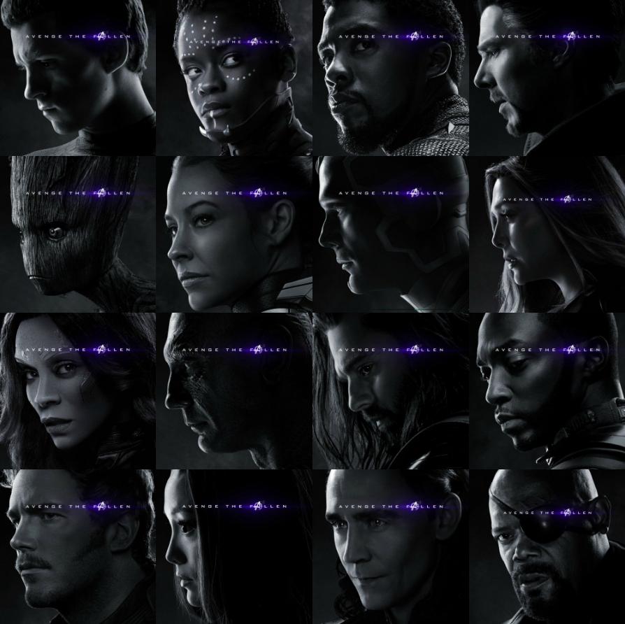 Avengers Endgame Avenge The Fallen Original Posters Marvel Posters Marvel Avengers