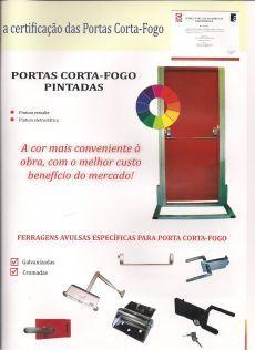 Portas Corta Fogo - MIRAGE, representada ENGEFROM ENGENHARIA E REPRESENTAÇÕES COMERCIAIS LTDA - www.fromrepresentante.com.br