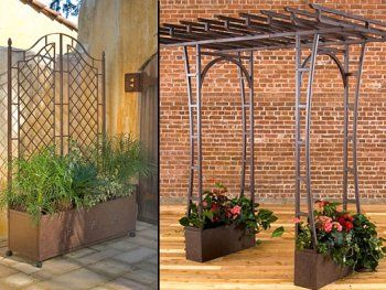landscape ideas tips for utilizing trellises arbors - Arbor Design Ideas