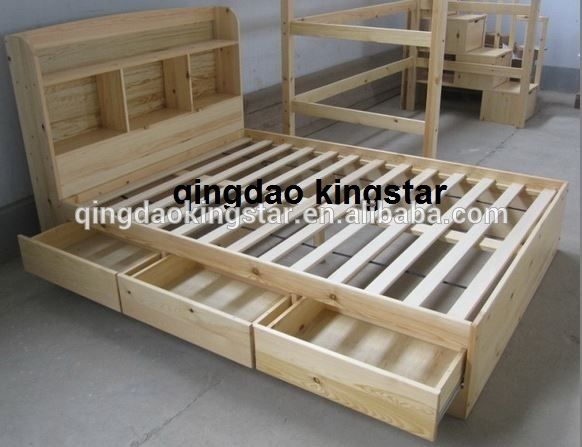 Wood Double Bed Designs With Box With Images Double Bed