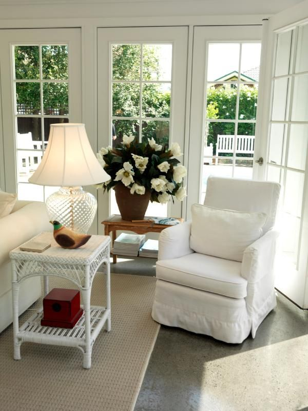 Gallery Of Country Style Decorating Ideas Sunroom