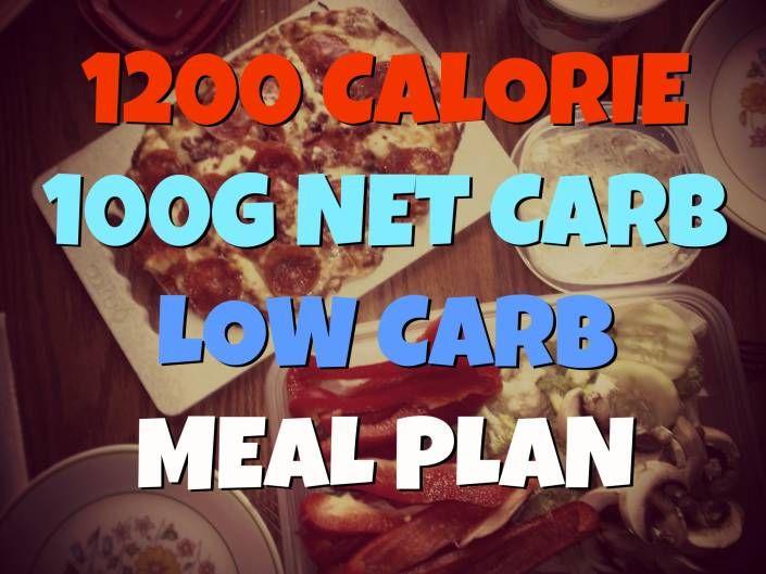 low carb diet under 100 grams