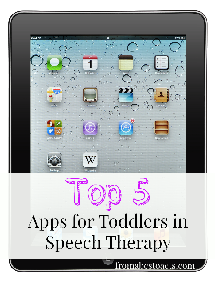 Top 5 Apps for Toddlers in Speech Therapy Toddler speech