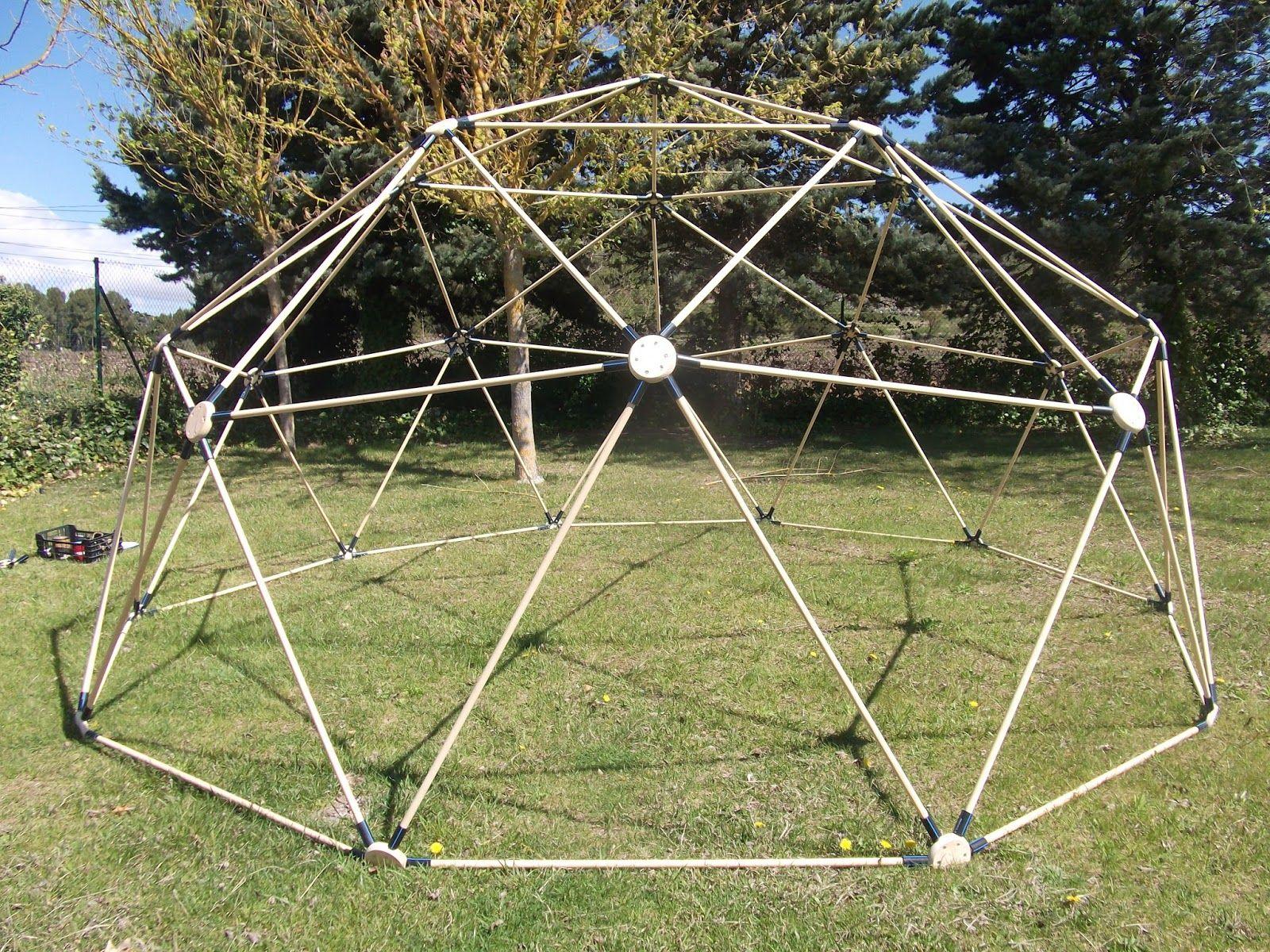domos geodésicos artesanales que es un domo historia y geometria