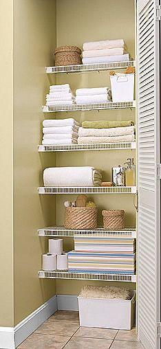 Lifetime Ventilated Linen Closet Linen Closet Organization No