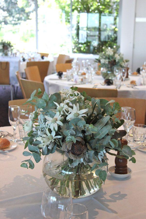 Meet Flannel Flower Wedding Table Flowers Wedding Flower Decorations Rustic Wedding Flowers Centerpieces