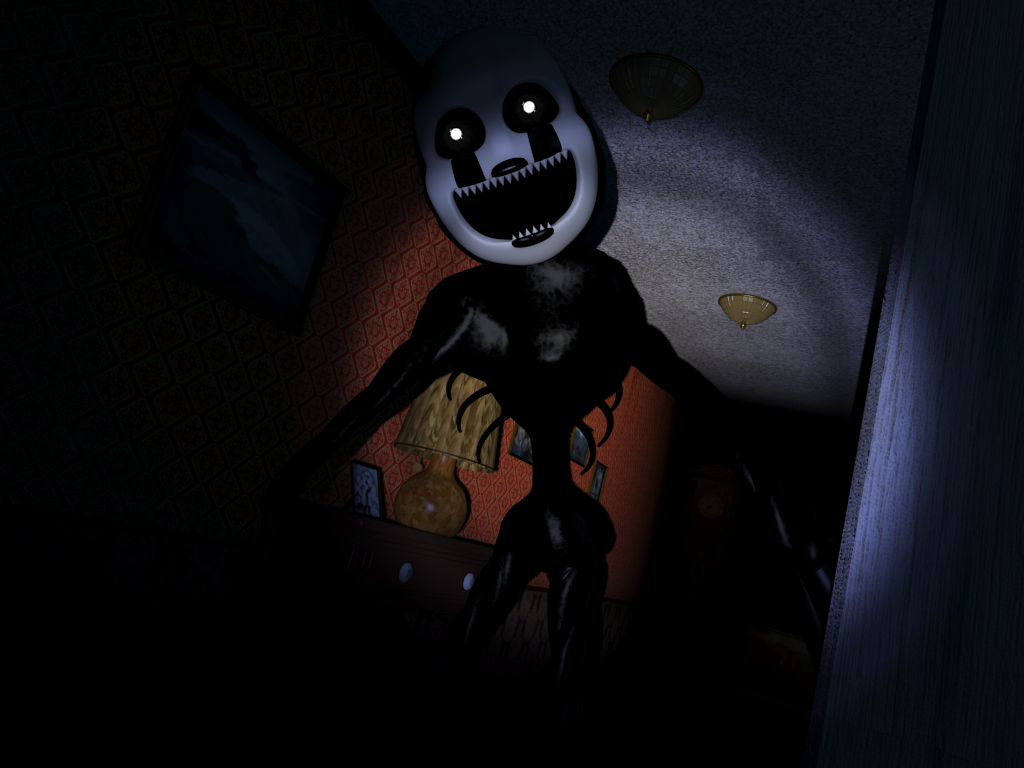 Nightmarionette [in the hallway] | Five Night's At Freddy's
