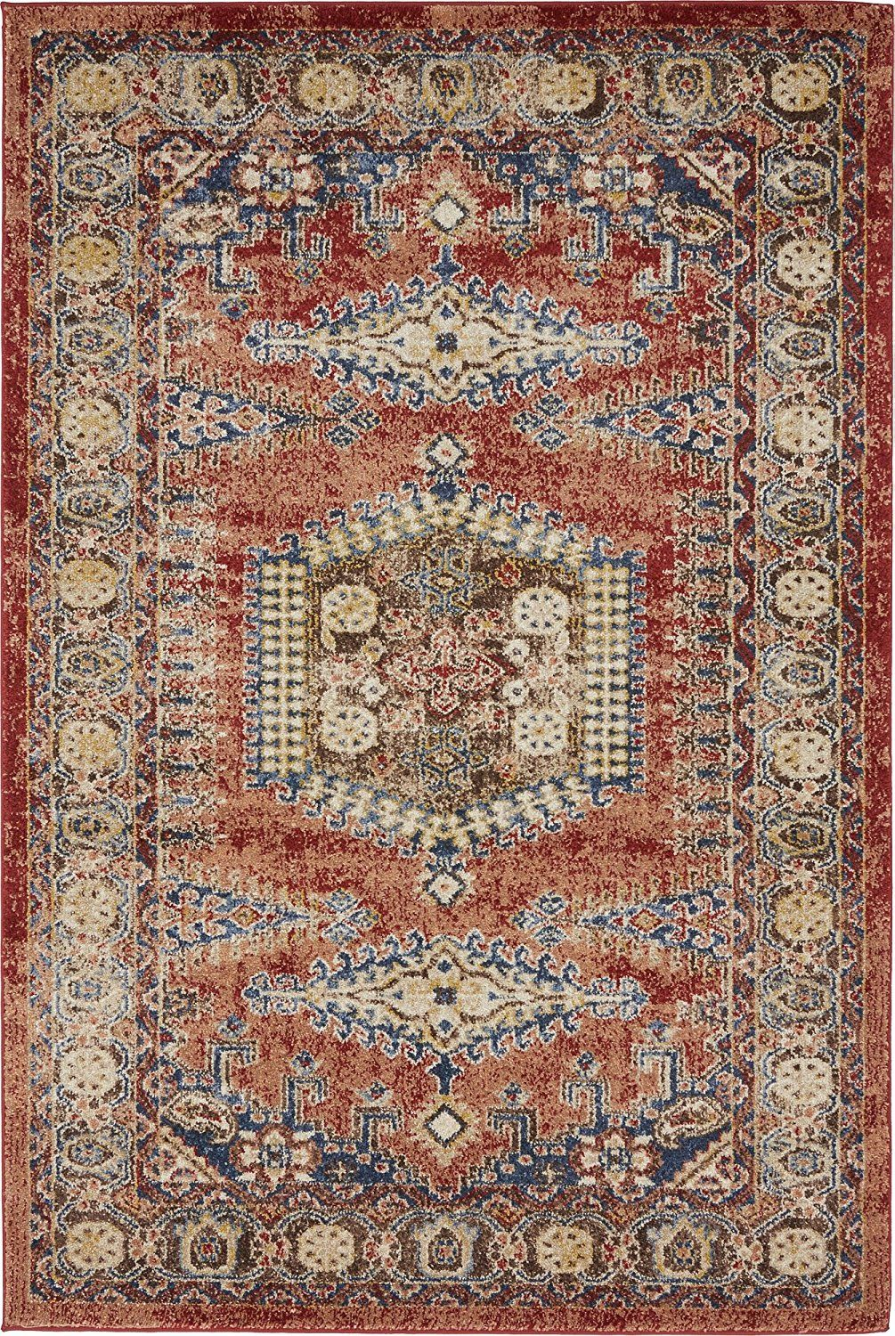 Traditional Persian Rugs Vintage Design