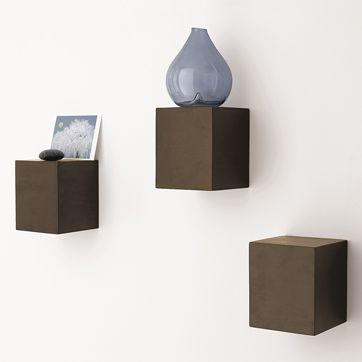 Jenni S West Elm Inspired Box Shelves Ikea Hackers Box Shelves Wall Cubes Shelves