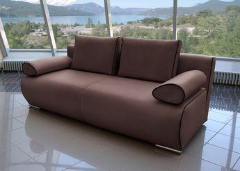Bettsofa Design bettsofa kapua design schlafsofa mocca mit schwarz 21542 buy now