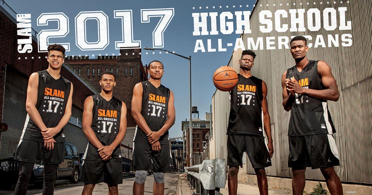 2017 SLAM HS All-Americans Michael Porter Jr/Trevon Duval /Wendell Carter Jr /Mohamed Bamba/DeAndre Ayton