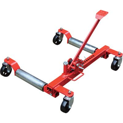 Ironton Heavy Duty Mechanical Wheel Dolly 1 250 Lb Lift