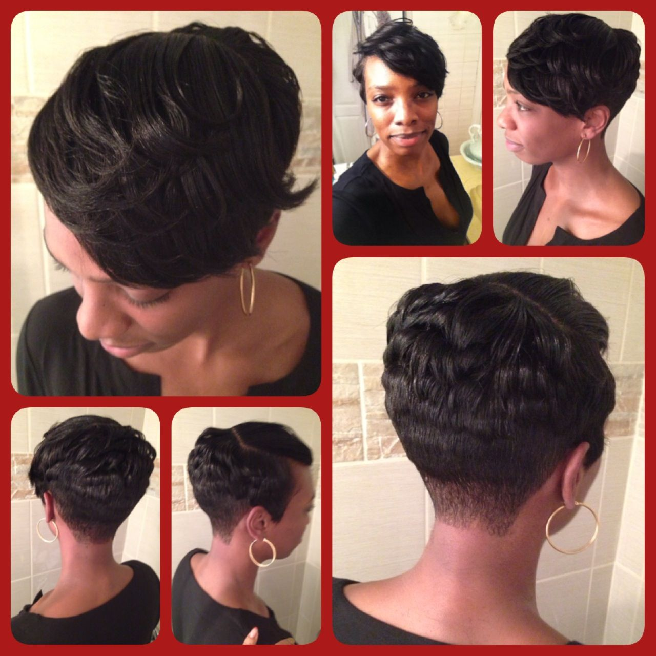 Enjoyable 1000 Images About My Meagan Good Short Hairstyles On Pinterest Short Hairstyles Gunalazisus