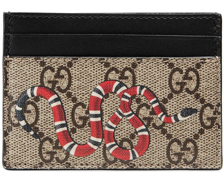 Gucci Card Holder Snake
