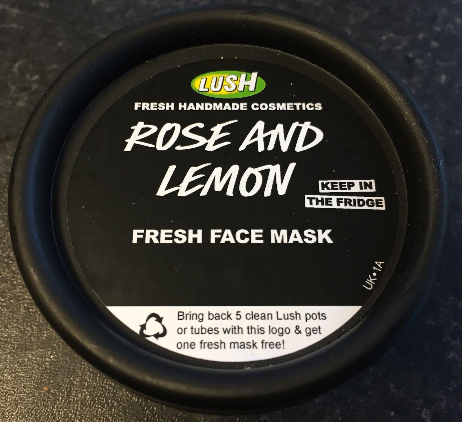 Rose and Lemon Fresh Face Mask | Lush