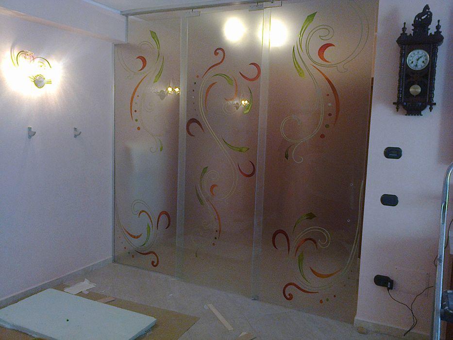Porte Scorrevoli A 3 Ante.Porta Scorrevole A 3 Ante Da Collezione Vrata Room Home Decor