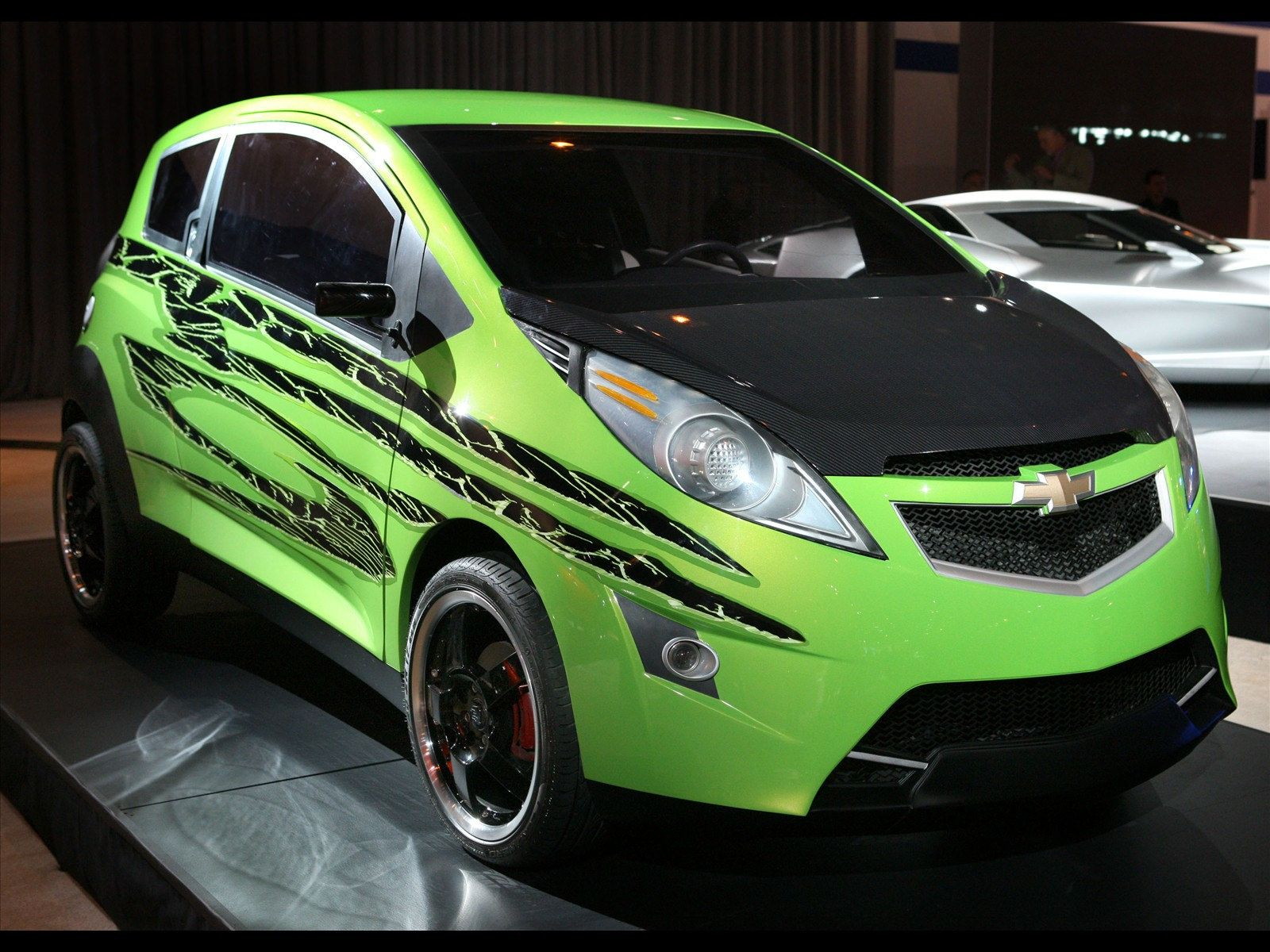 Skids 2009 01 Chevrolet Spark Chevrolet Twin Car