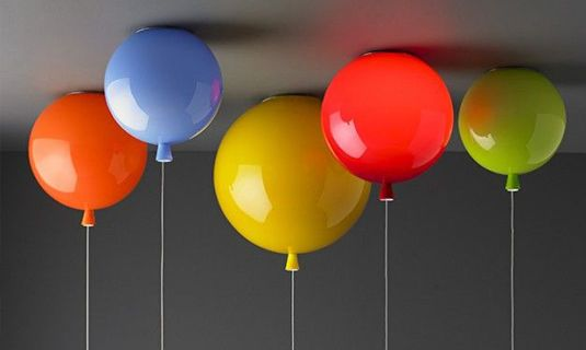 Lamp Kinderkamer Design : Leuk ballon licht voor in de kinderkamer kinderkamer