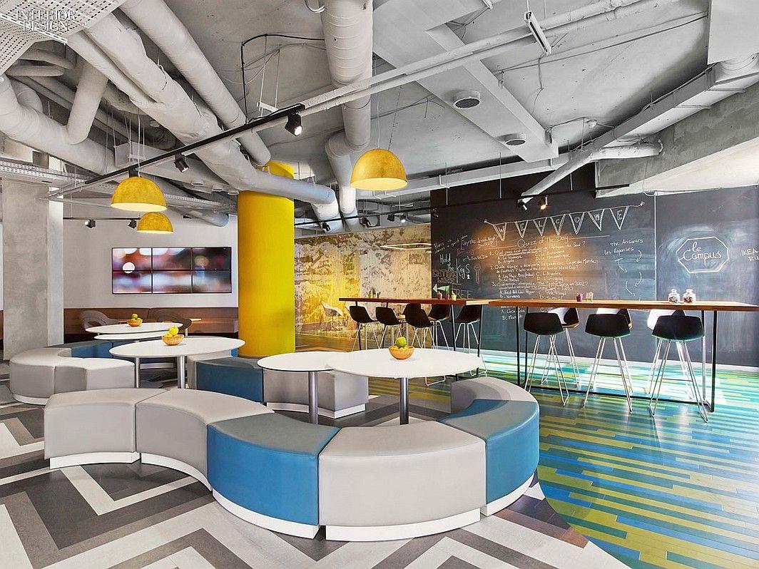 Virserius Studio Designs Le Campus In Paris | Companies | Interior Design