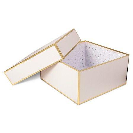 Sugar Paper Blush Square Gift Box Large Target Bridesmaids