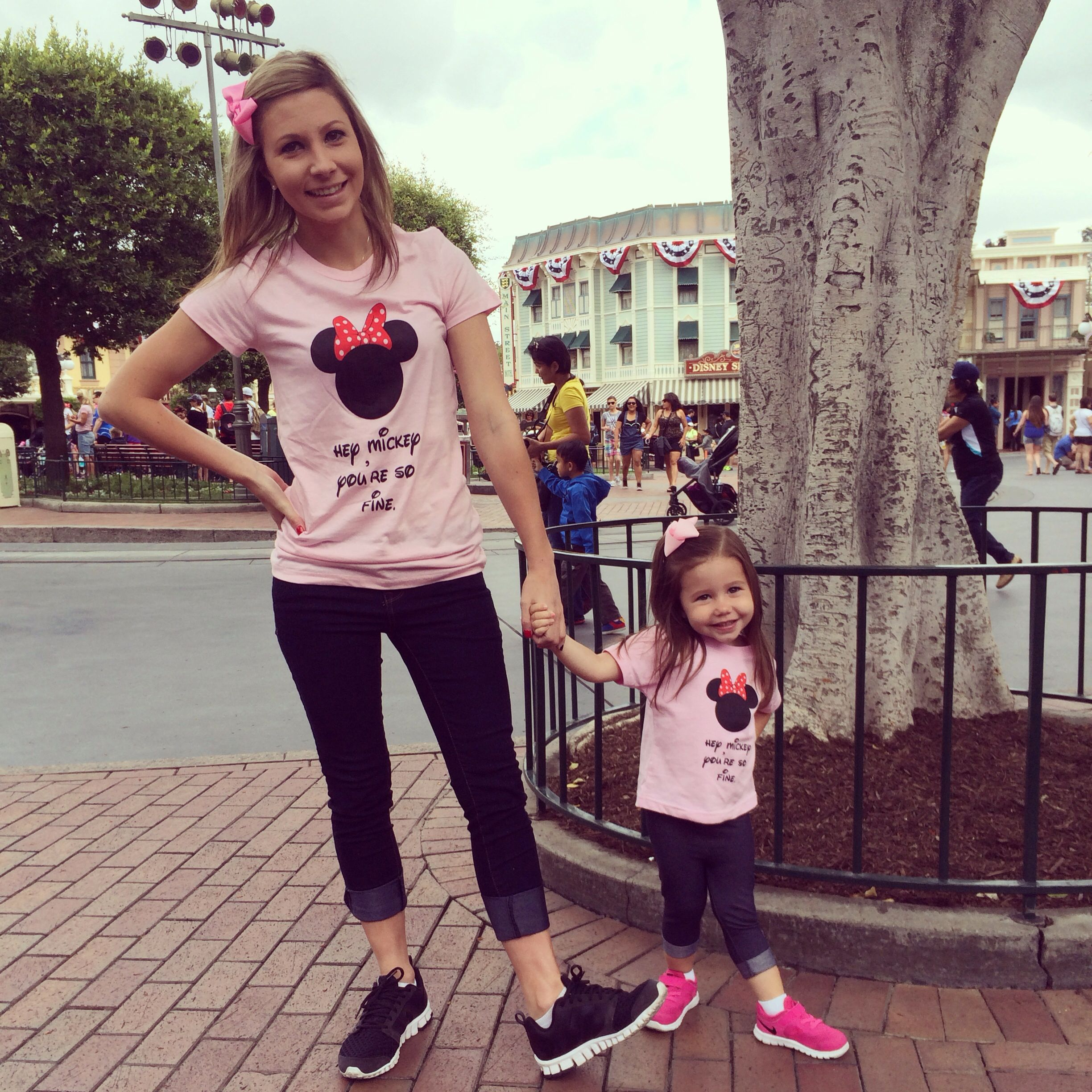 Hey Mickey You re So Fine shirts Matching Mother daughter trip