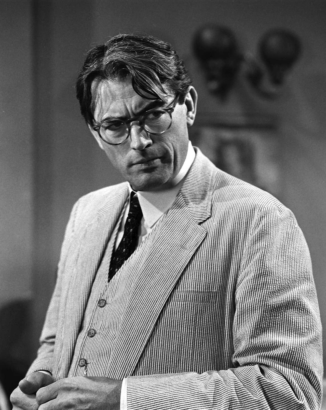 Gregory Peck As Atticus Finch In A Publicity Still From To Kill A
