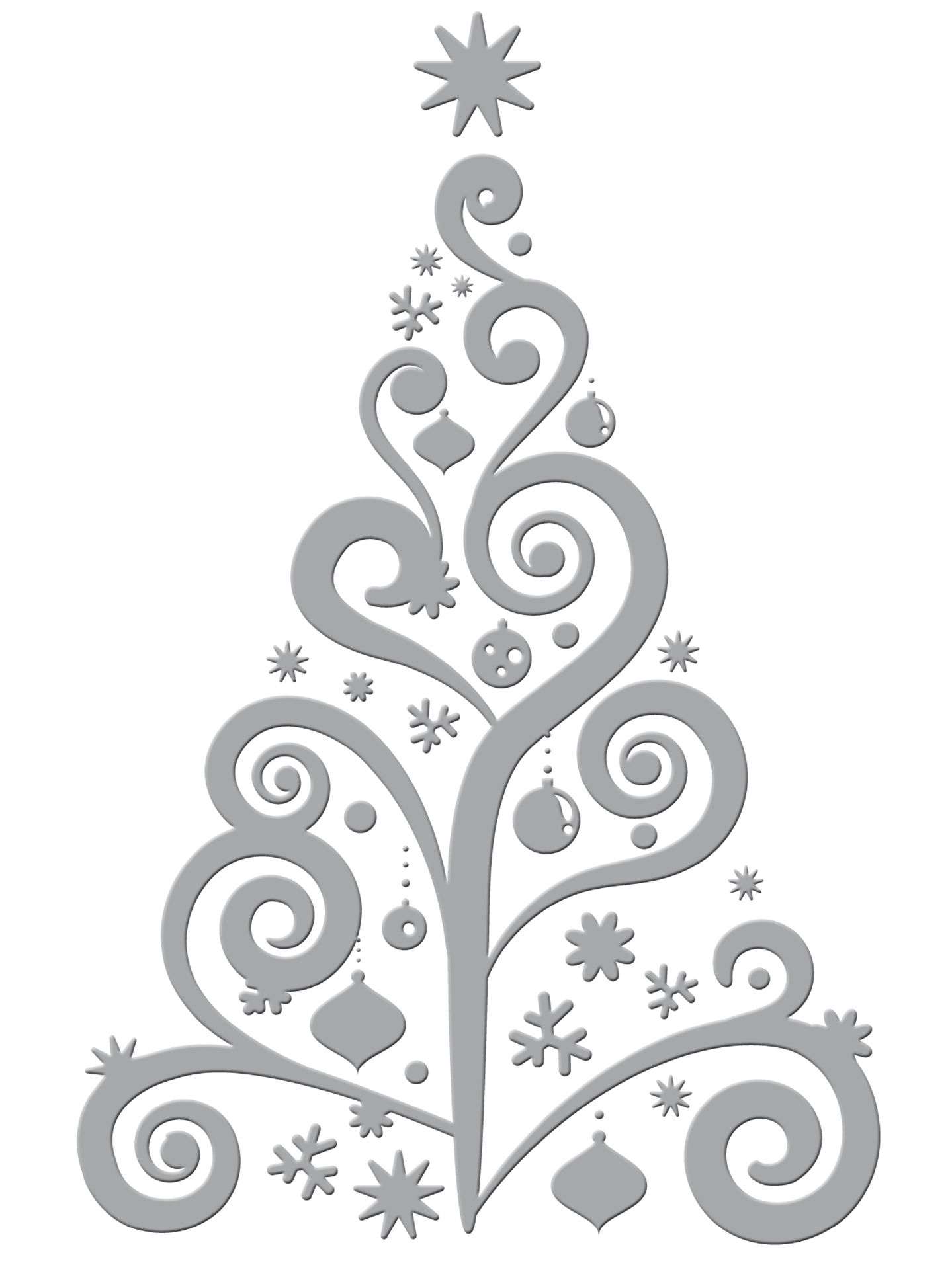 Couture Creations Christmas Dies Collection Winter Branches