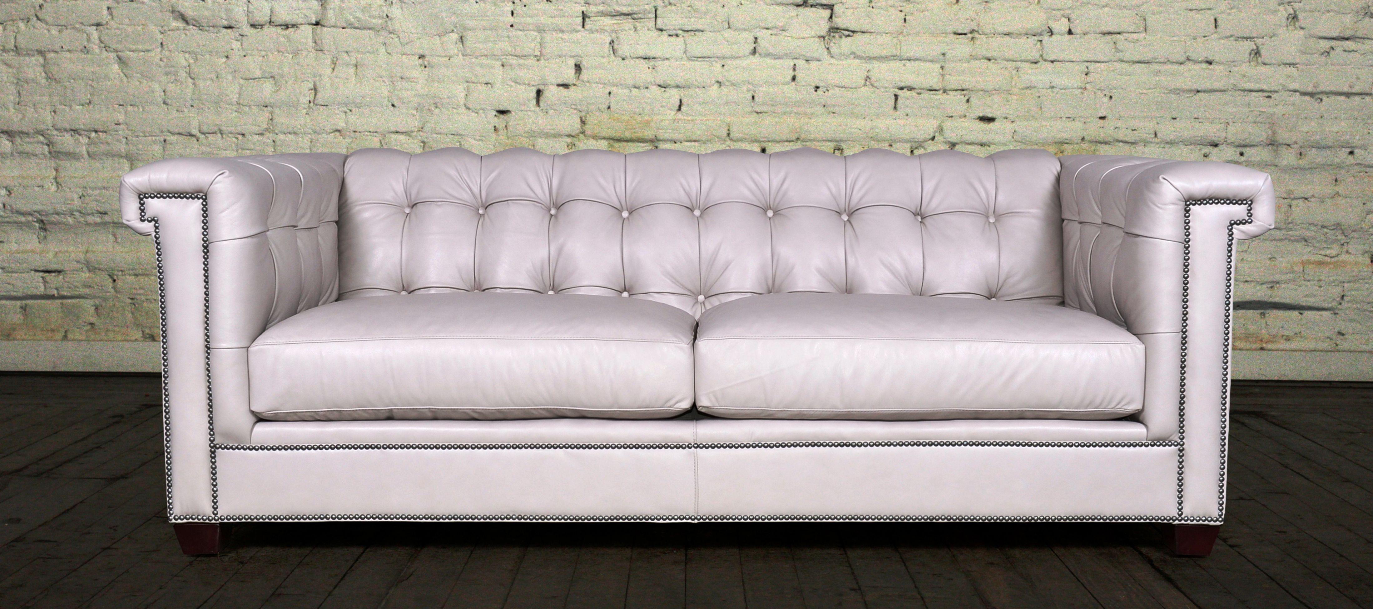 Enjoyable Lennox Tufted Leather Chesterfield Sofa Cococohome Sofa Short Links Chair Design For Home Short Linksinfo