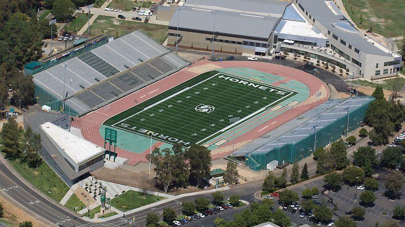 Hornet Stadium Sacramento State University Sacramento State Sky Football Stadium