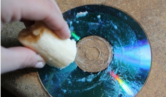 Rub a banana over a scratched disk that jumps or freezes when played, wipe off the excess banana after about a minute giving the banana time to seal the scratches and voila! Good as new!