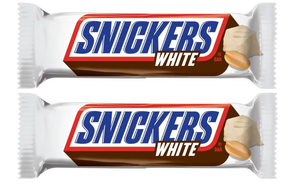 Mars To Launch Snickers White Permanently In The New Year Snickers White Snickers Chocolate Packaging Design