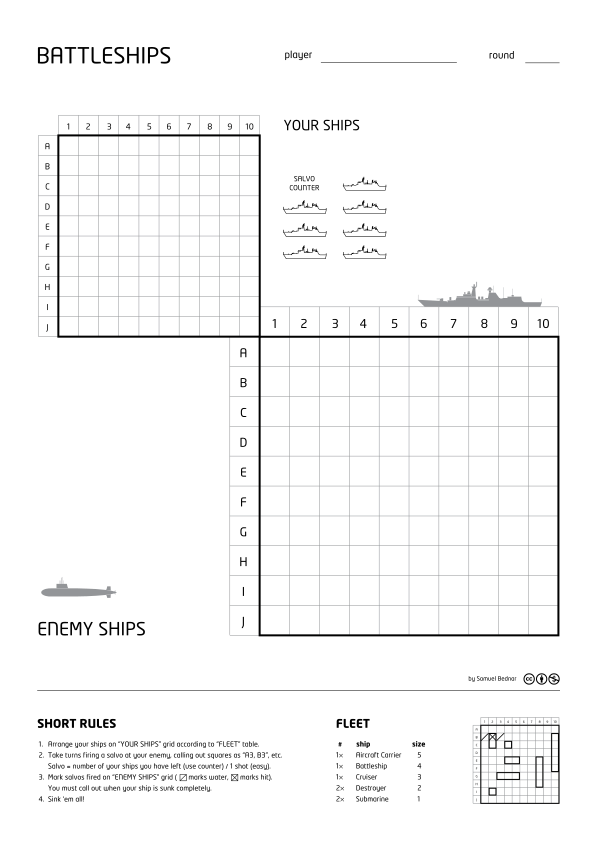 Battleships Paper Game  Battleship Game  Wikipedia The Free
