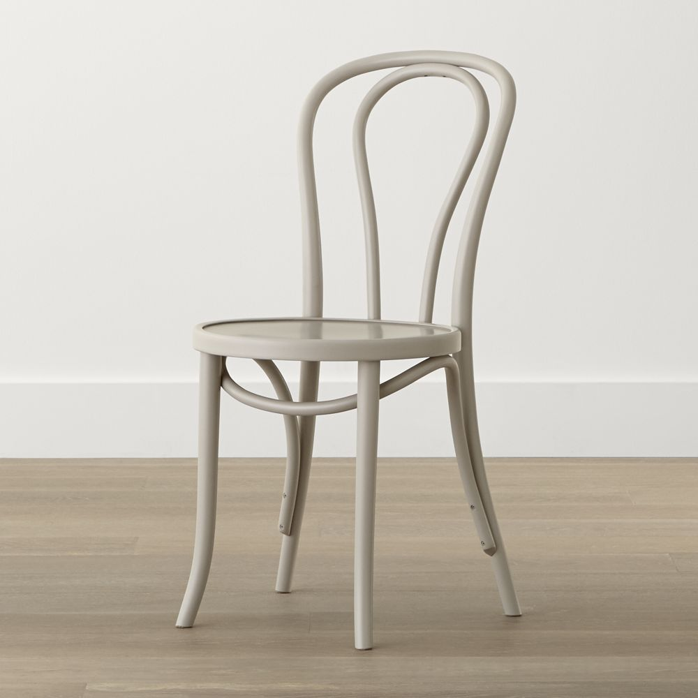Vienna Dove Wood Dining Chair White Wood Dining Chairs Wood