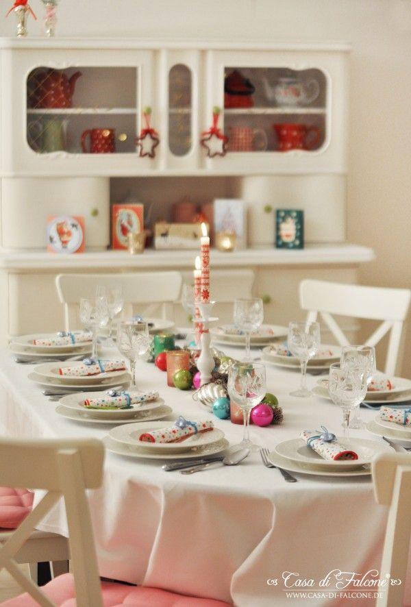 Casa Weihnachtsdeko.Weihnachtstisch I Christmas Table I Weihnachtsdeko I Casa Di Falcone