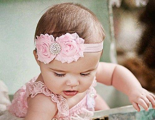 Baby Infant Girl Rose Headband Birthday Party Flower Crown Hairwear Accessories