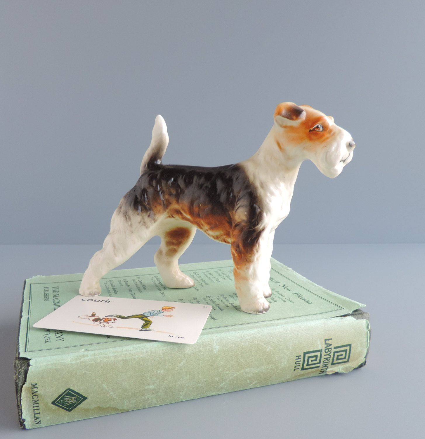 Wire Hair Fox Terrier Collectibles - WIRE Center •