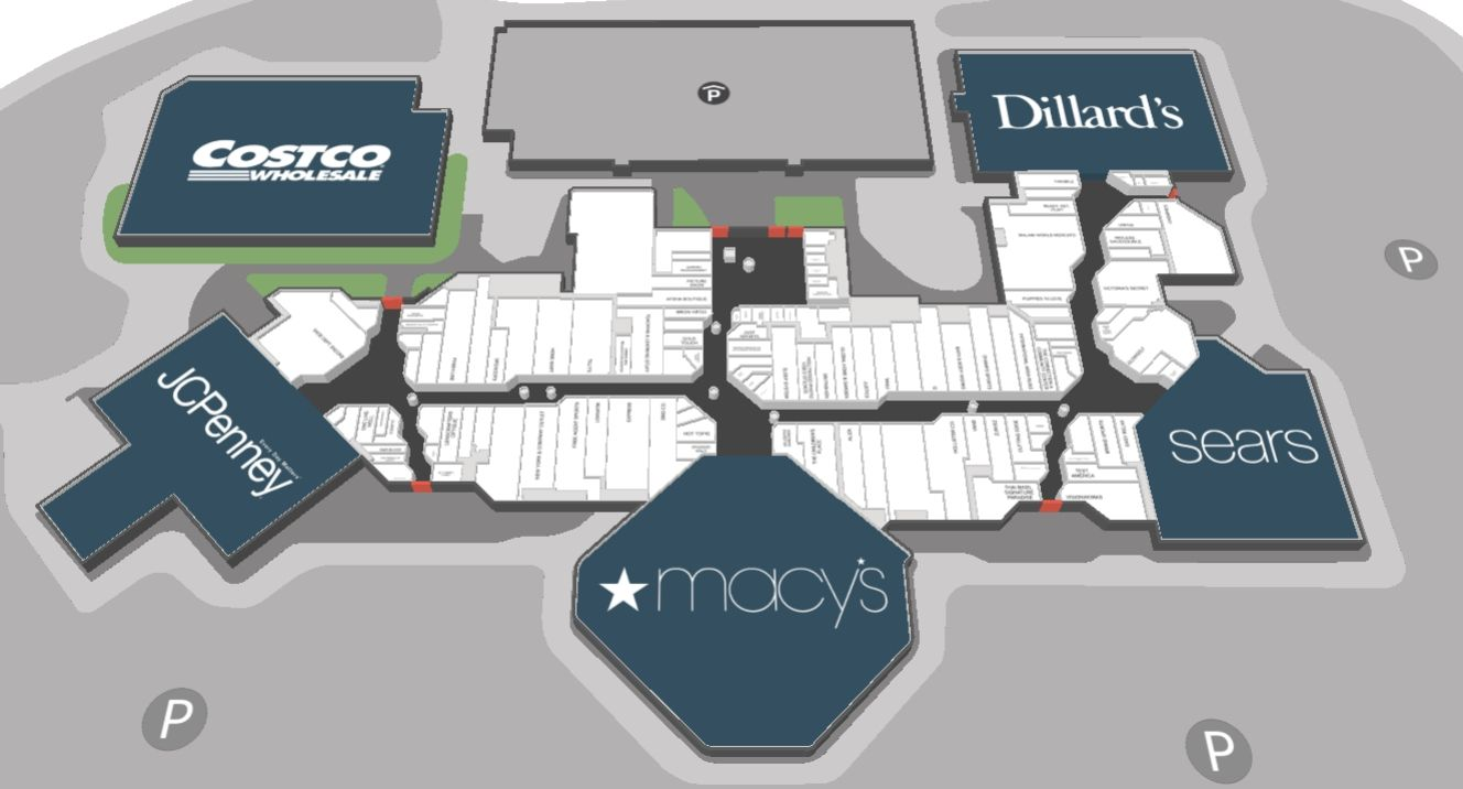 Paradise Valley Mall Shopping Plan Paradise Valley Mall Valley